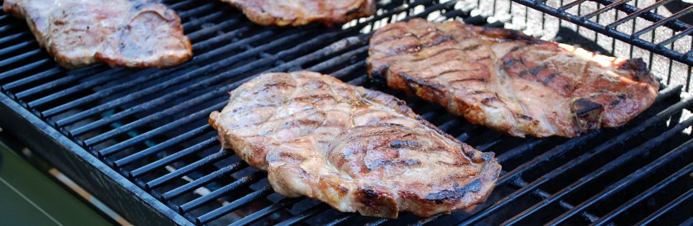 Grilovanie bravčového mäsa